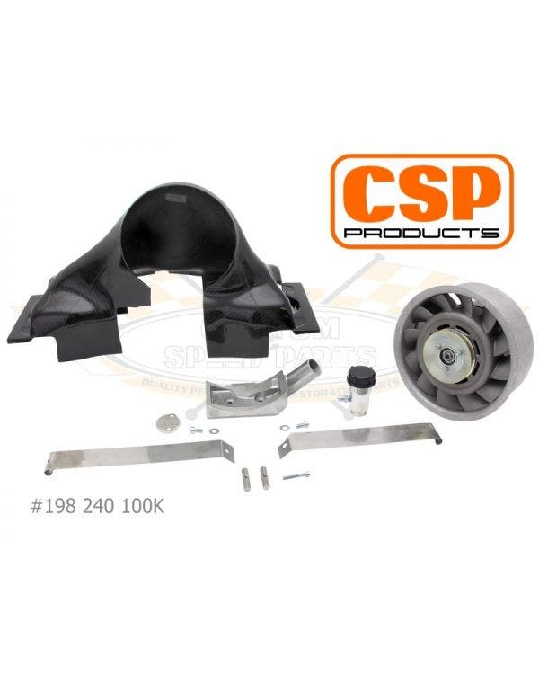 Porsche Fan Kit,CSP,T1,Carbon AC105305 & belt 10x838mm