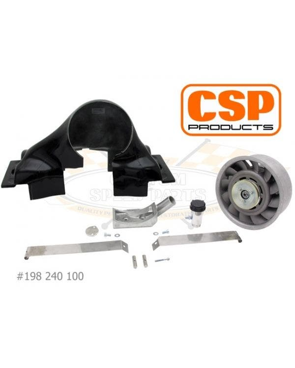 Porsche Fan Kit, CSP Type 1 engines, F/glass f/shroud*