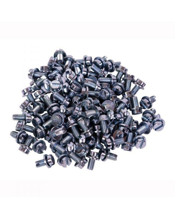 Tinware Screw, 100 Piece, Zinc Plated