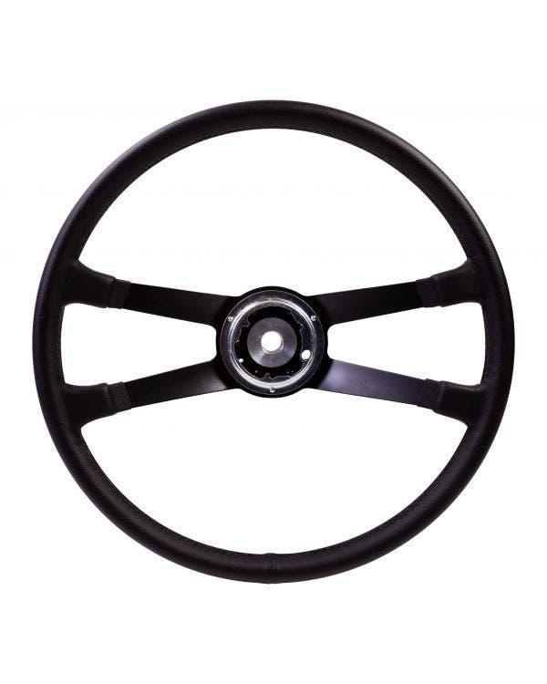 SSP Lenkrad, schwarzes Leder, inkl Lenkradnabe, für Porsche, 417mm