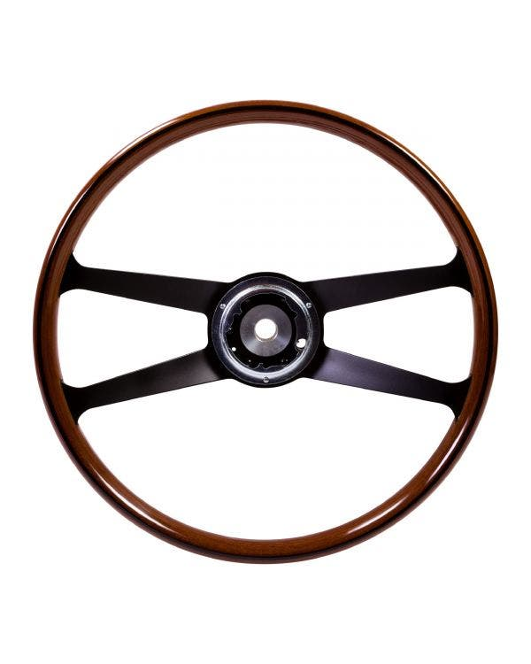 SSP Mahogany Steering Wheel inc Boss for Porsche. 395mm