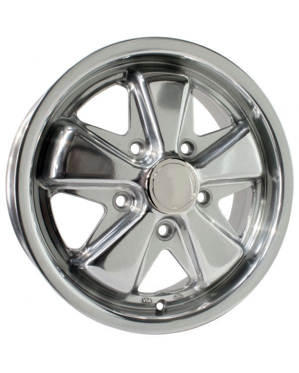 SSP Fooks Alloy Wheel Polished 5.5Jx15'' with 5x112 Stud Pattern ET20