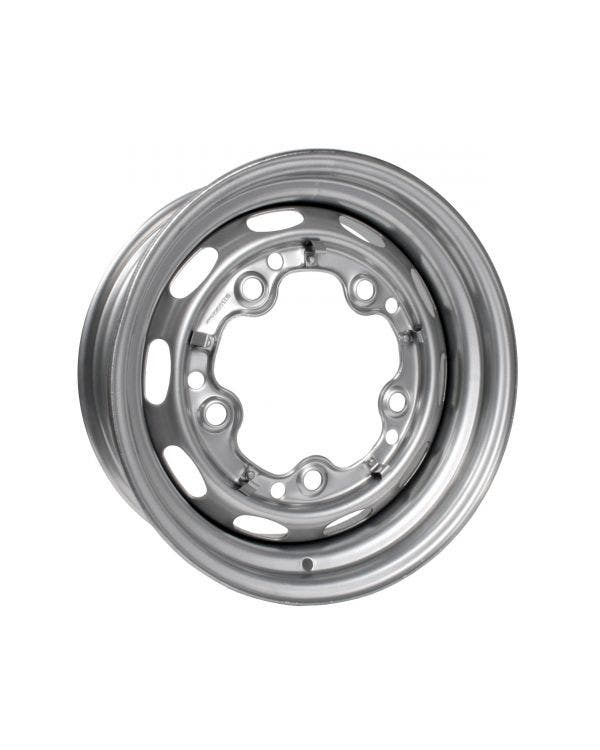 Silver Steel Wheel 5.5Jx15'' with 5x205 Stud Pattern