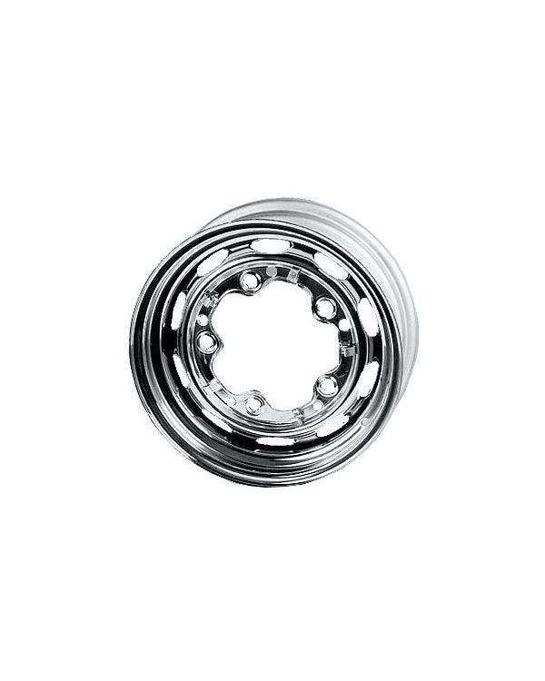 Chrome Steel Wheel 5.5Jx15'' with 5x205 Stud Pattern