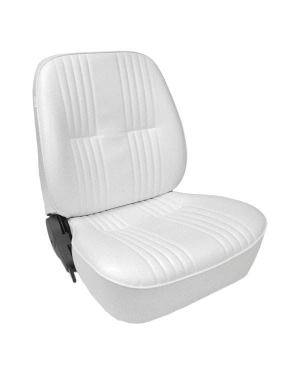 Scat Procar Sitzbezug für den linken Vordersitz mit niedriger Rückenlehne, weiß
