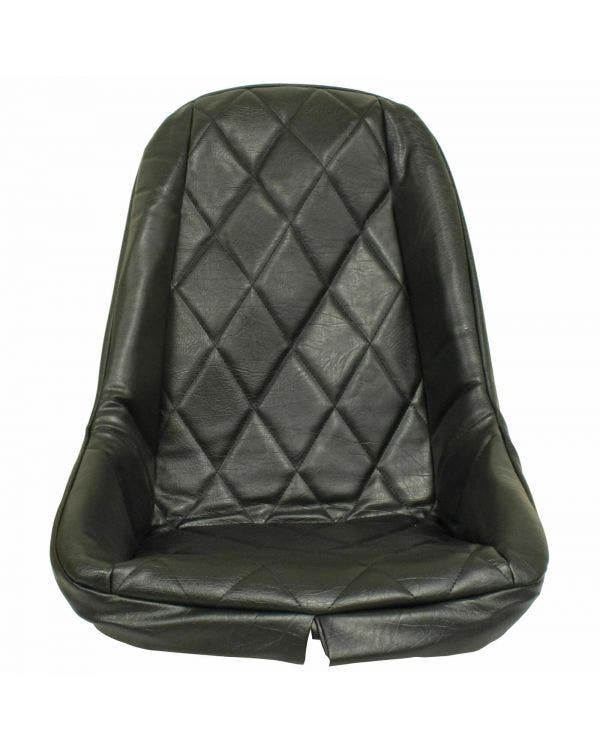 Cover, Plastic Low Back Seat, Diamond Pattern