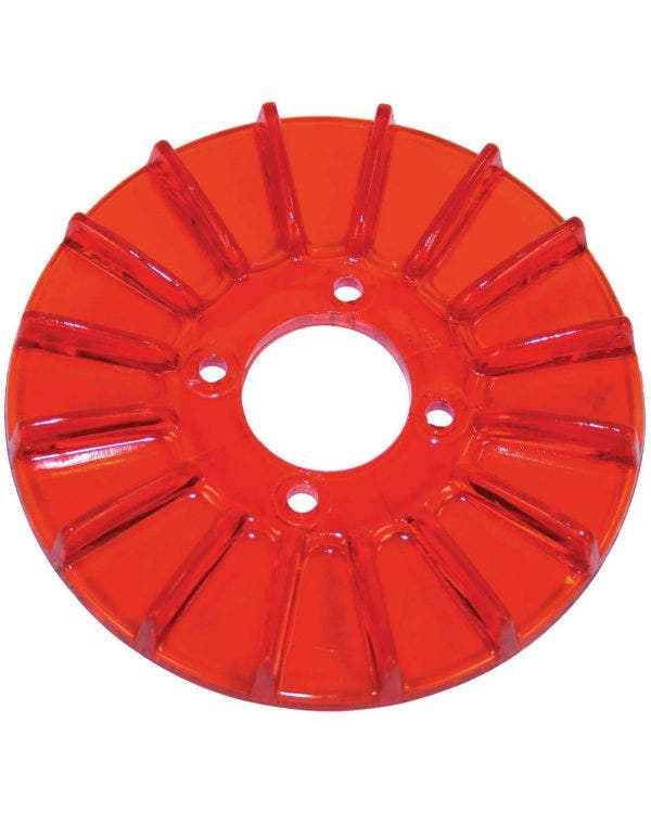 Alternator/Dynamo Pulley Cover, Red