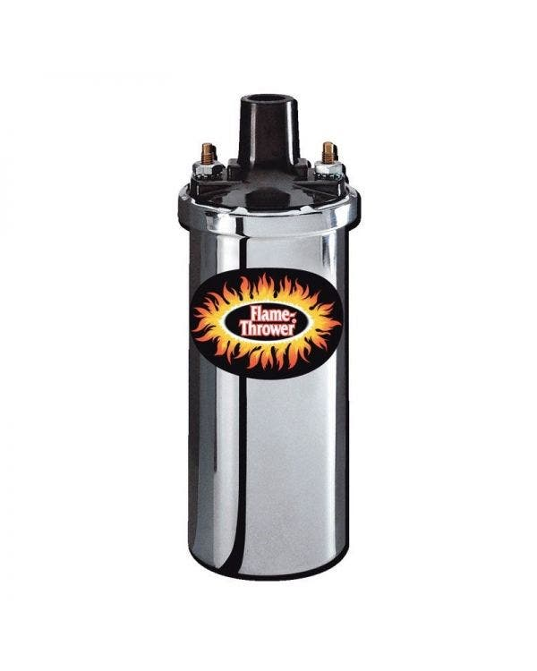 Zündspule ''Flame Thrower I'' , chrom, 12V