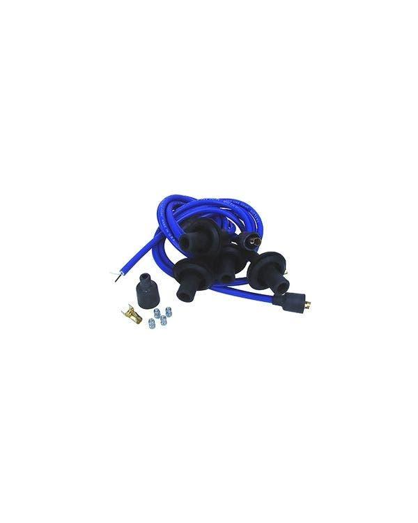Zündleitungssatz, Spiro-Pro, blau, 8mm
