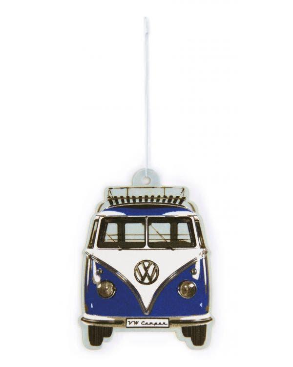 Lufterfrischer VW T1, blau und weiß