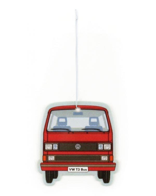 Lufterfrischer, T3 Bus, rot