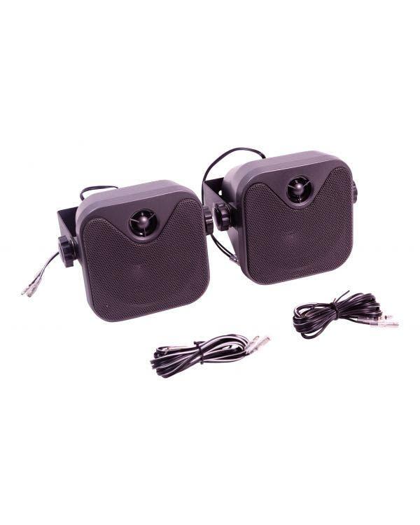 RetroSound 4-Zoll-Lautsprecher zur Oberflächenmontage