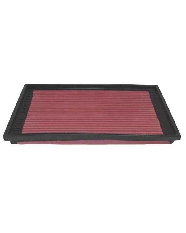 K&N High Flow Panel Air Filter