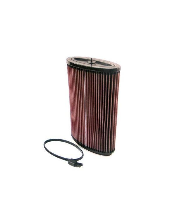 K&N High Flow Oval Air Filter