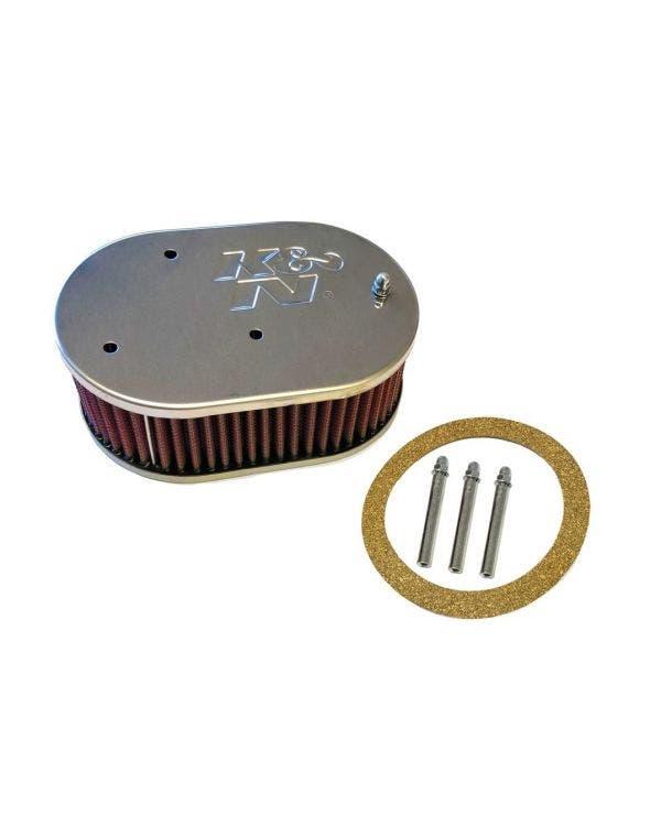 K&N Luftfilter, angeschraubt, 1.6-1.8l