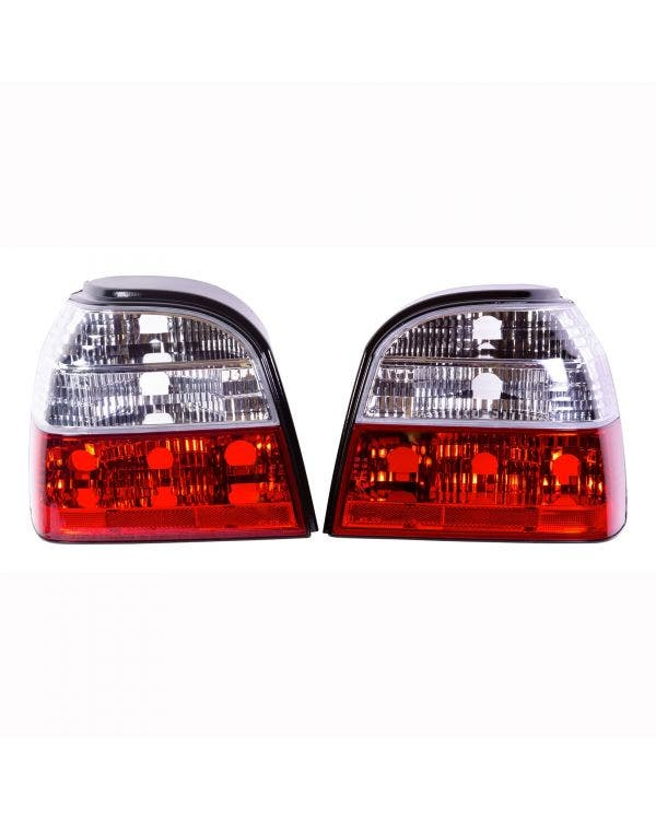 Rear lights Red and Clear Crystal