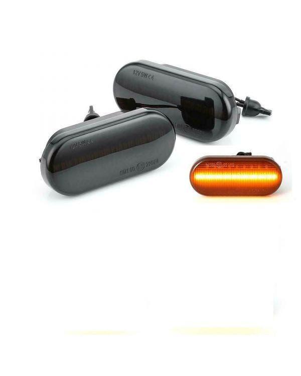 LED Seitenblinker, getönt