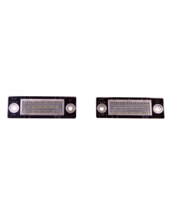 LED Number Plate Lamps CAN bus Compatible