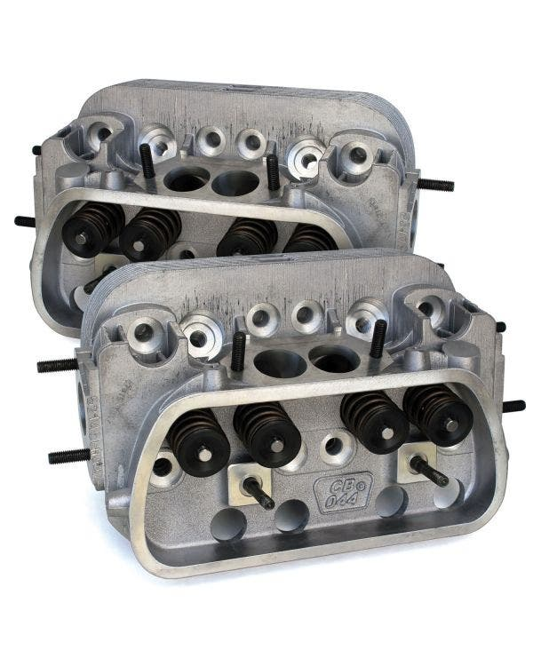 CB Performance 044 CNC Super Mag Round Ports Cylinder Heads 90.5/92mm Pair