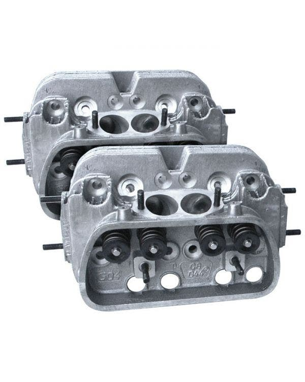 CB Performance 044 CNC Ultra Mag Plus Cylinder Heads 90.5/92mm Pair 42x37.5mm