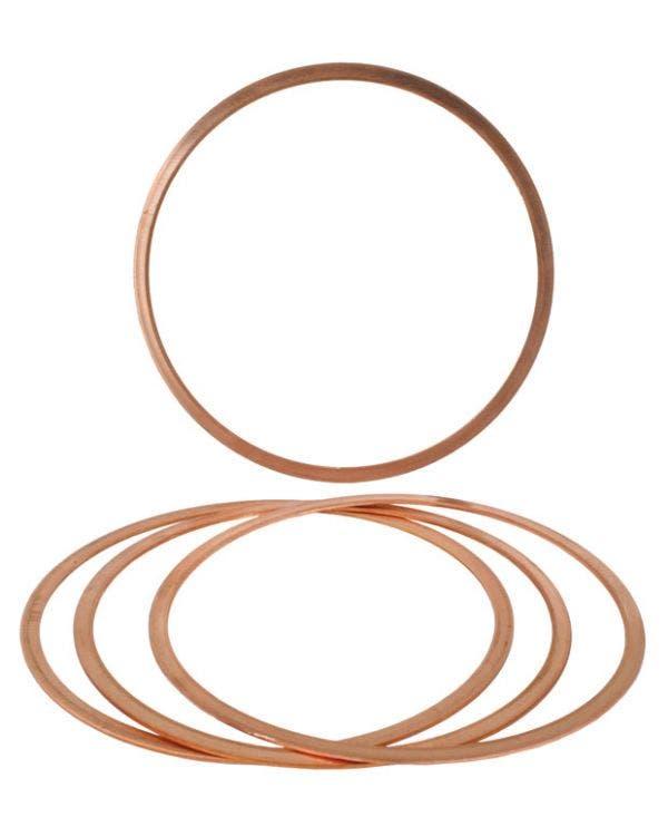 Cylinder Head Copper Gasket Set 90.5mm x 1mm