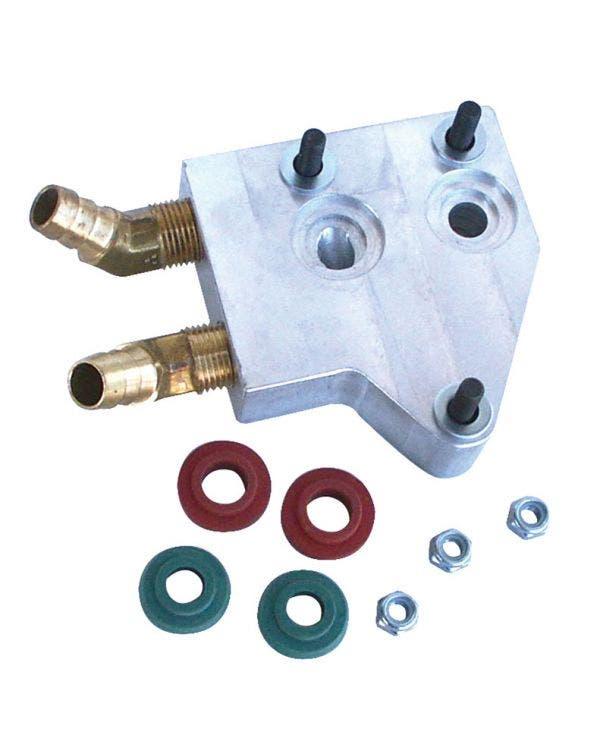 Dual Oil Cooler Adaptor 1200-1600cc