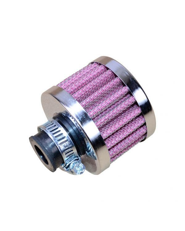 Oil Breather Filter with Chrome Top