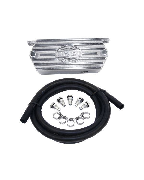 Oil Breather Box Kit Polished Aluminium