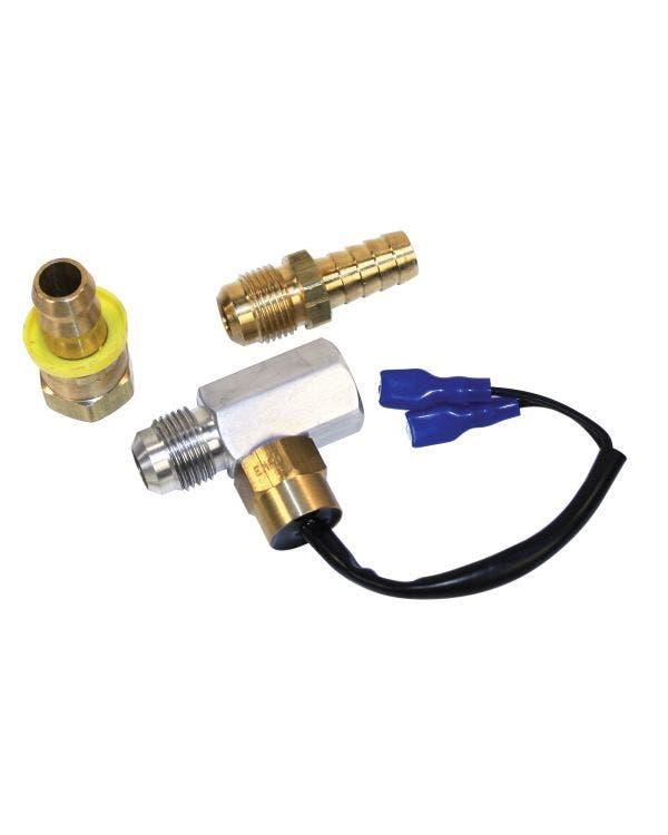Schalter für das Ölthermostag, elektrisch