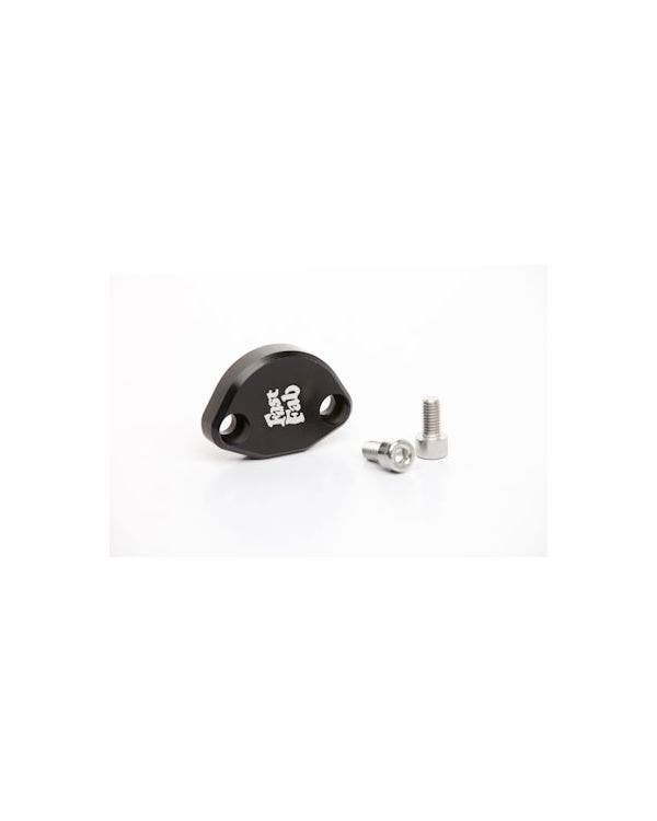 Fuel Pump Block Off, Black