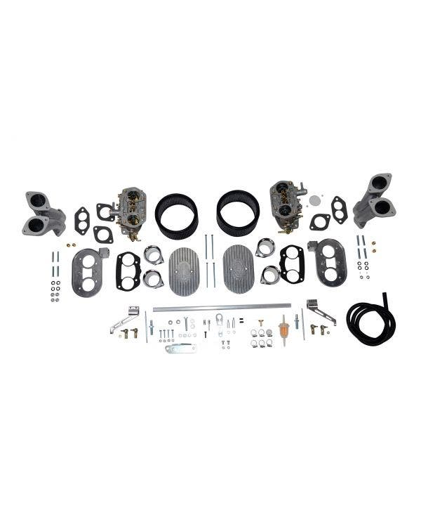EMPI Dual-D 40mm Deluxe Carburettor Kit for Type 1 up to -2180cc