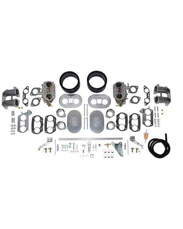 EMPI Dual-D 40mm Deluxe Carburettor Kit for Type 4 Engines up to 2000cc