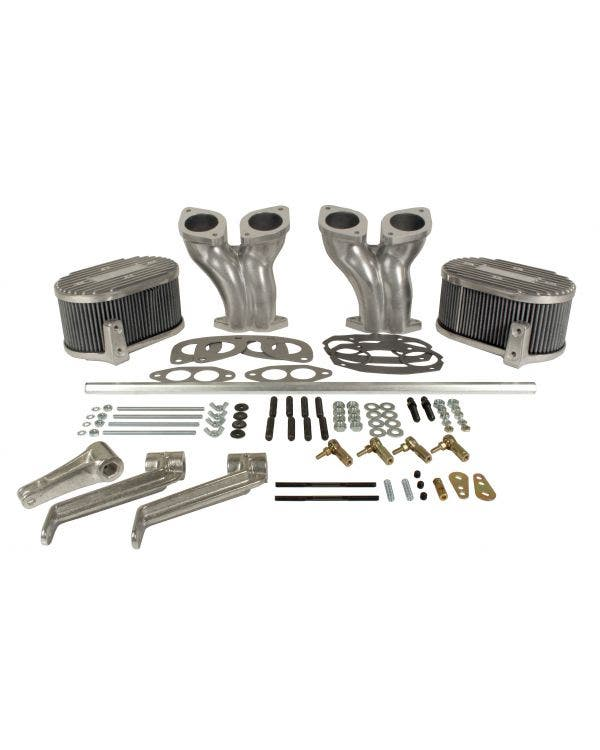 Offset Inlet Manifold Kit including Linkage for IDF/DRLA/HPMX