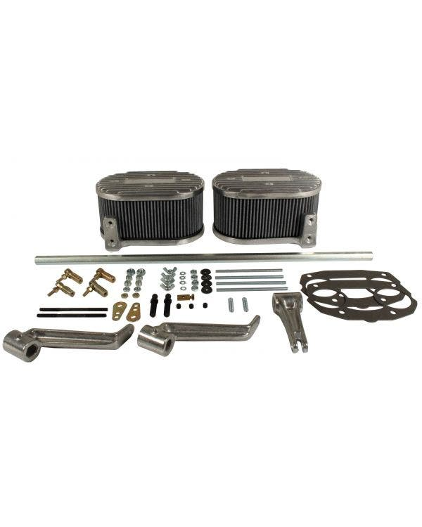 Air Filter & Linkage Kit for IDF/DRLA/HPMX Offset Manifolds