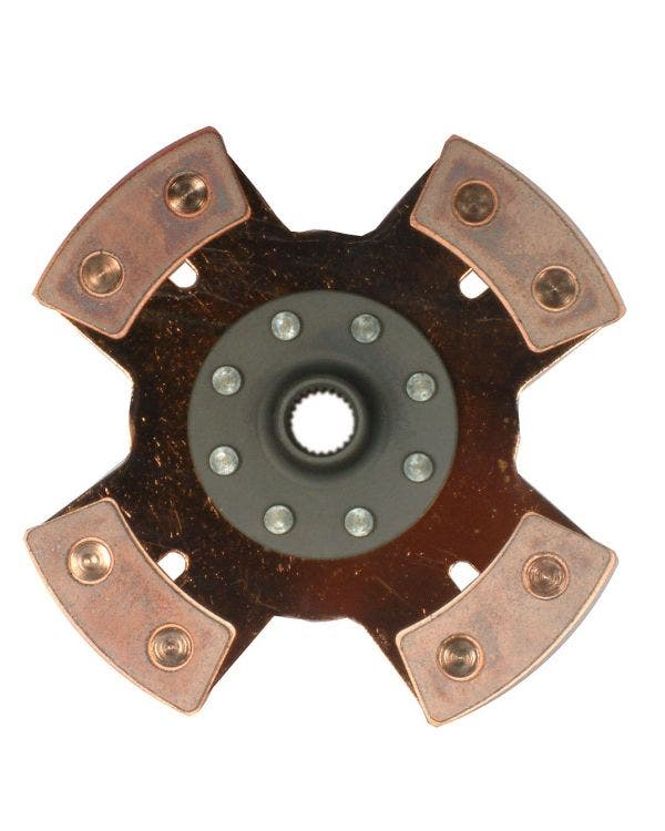 200mm Solid 4 Puck Clutch Disc