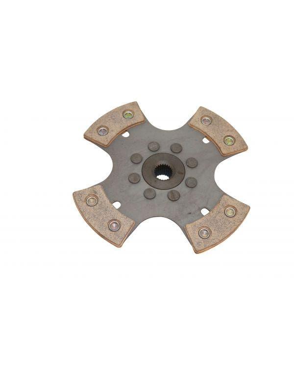 Kupplungsscheibe, solide, 200 mm, 4 Puck