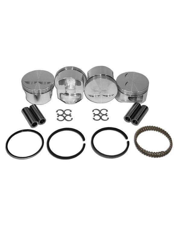 JE Forged piston kit 98mm Type 4 2.0 Litre