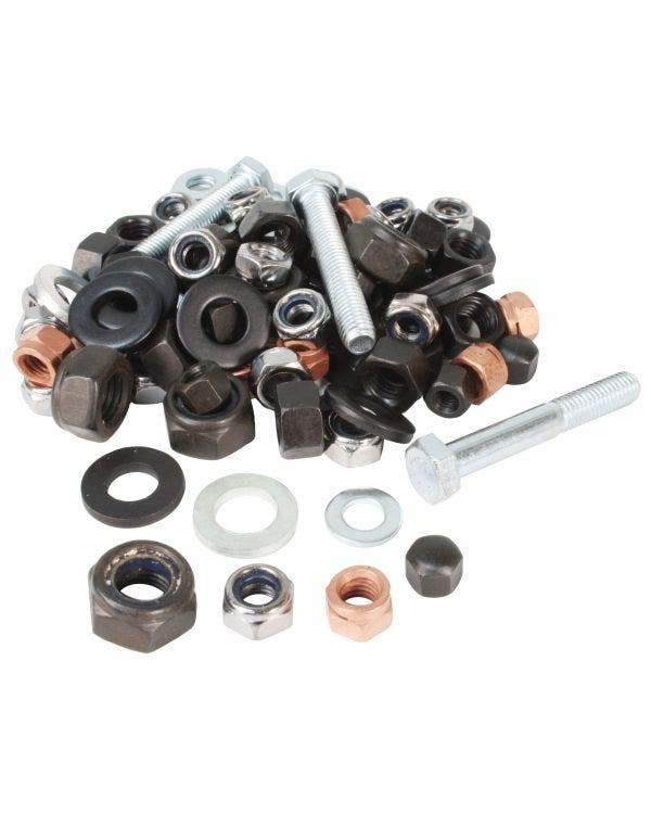 Crankcase Hardware Kit Deluxe 10mm