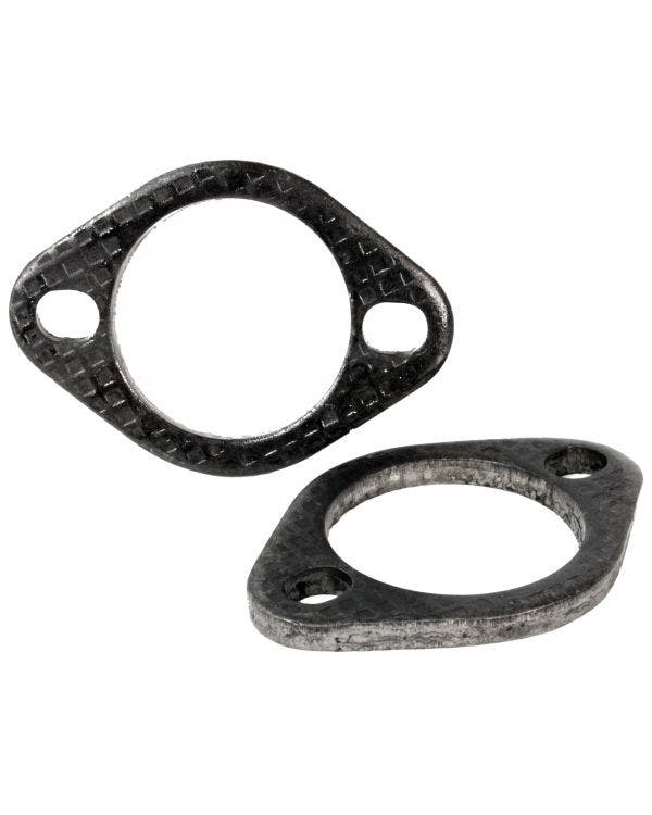 Pair of Steel Exhaust Flanges 1 5/8''