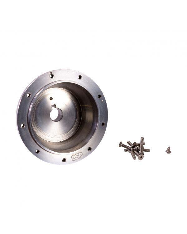 SSP Boss Kit, 9 Bolt, Polished Aluminium, PCD 9x102