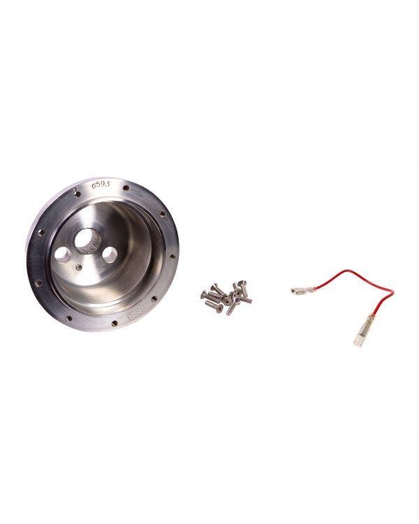SSP-Lenkradnaben-Kit, poliertes Aluminium, PCD 9x102