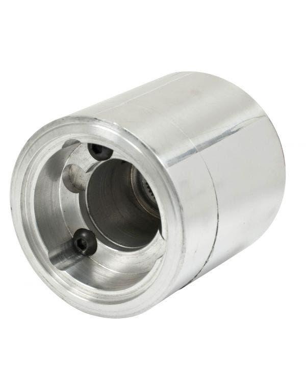 Lenkradnabe, Aluminium