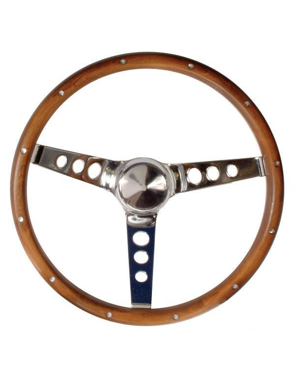 Grant Wood Rim Steering Wheel 13.5'' with 3 3/4'' dish