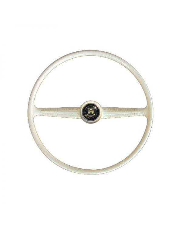 Flat4 Steering Wheel Ivory