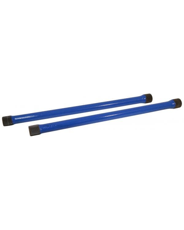 Rear Torsion Bars 21 3/4in -28mm Pair