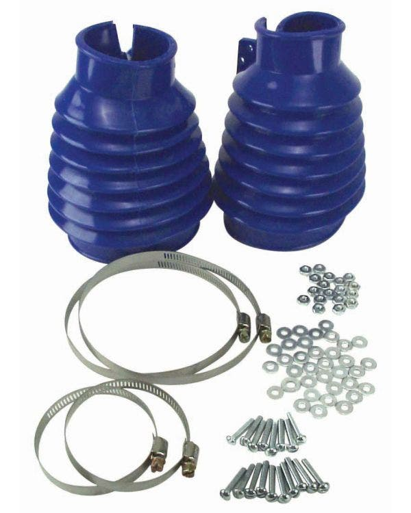 Swing Axle Boot Kit Blue Pair
