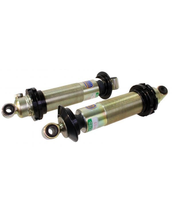 GAZ Coil Over Shock Absorber Double Loop 380/255 Pair