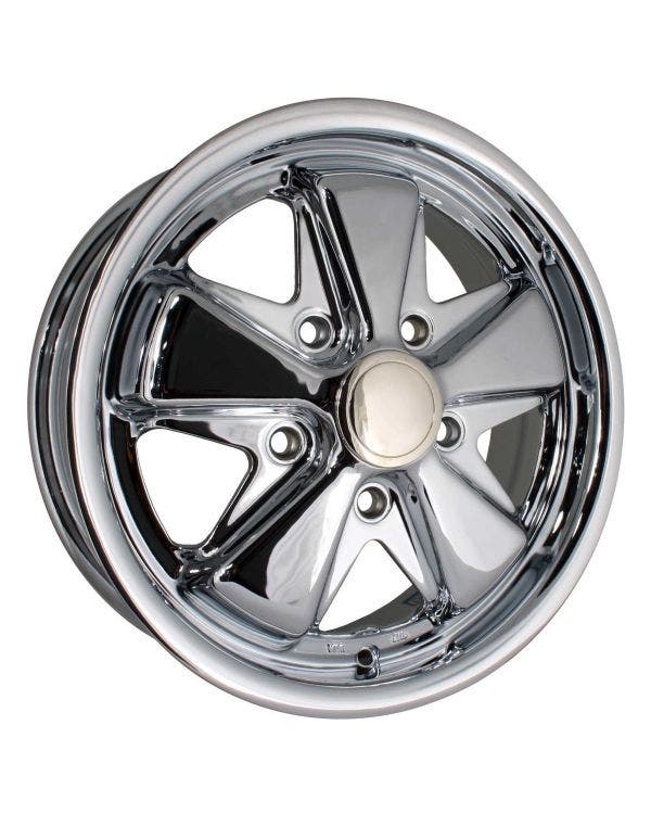 SSP Fooks Alloy Wheel Chrome 5.5Jx15'' with 5x130 Stud Pattern ET45