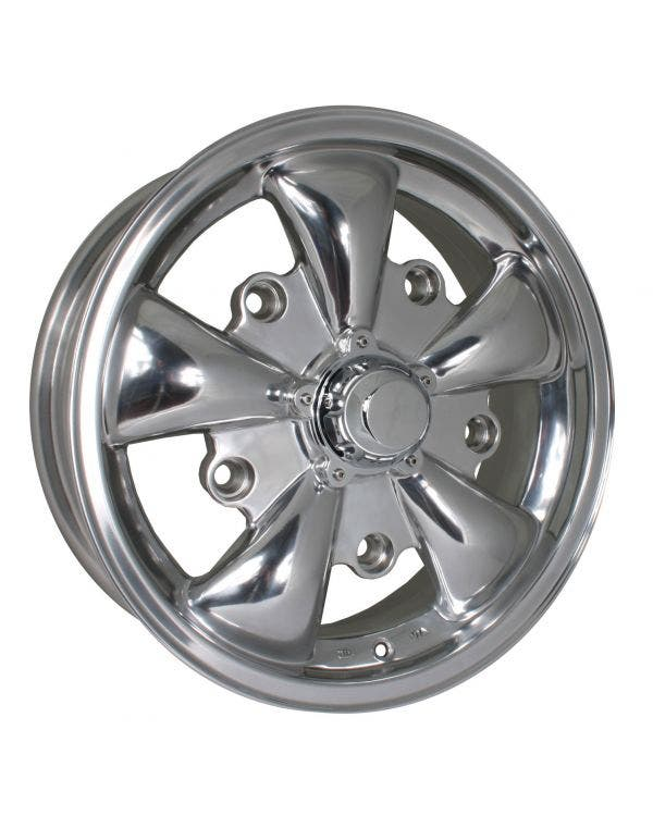 SSP GT 5 Spoke Polished Alloy Wheel 5.5Jx15'' 5x205 PCD ET20