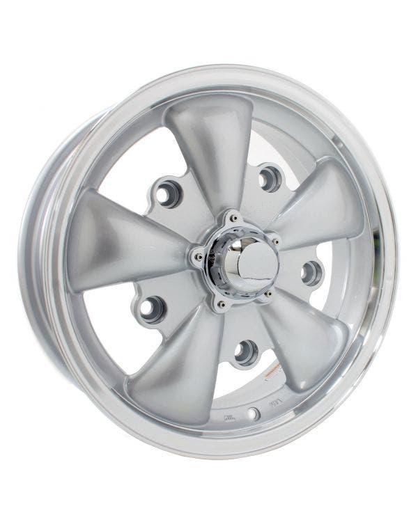 SSP GT 5 Spoke  Alloy Wheel Silver 5.5Jx15'' with 5x205 Stud Pattern ET20